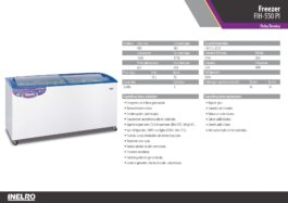 Freezer Inelro FIH-550-PI 528lts
