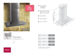 Campana Llanos Premium 60 LCD