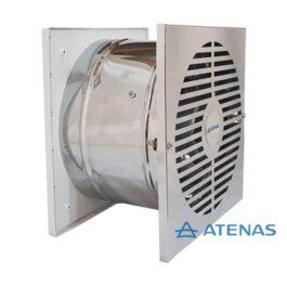 Extractor Atenas 30cm Pared 15cm A. Inox.