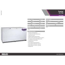 Freezer Inelro FIH-700 695lts